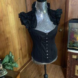 Bebe blouse size medium